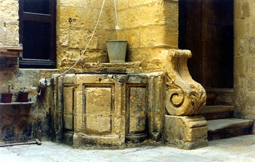 An old well in Birgu